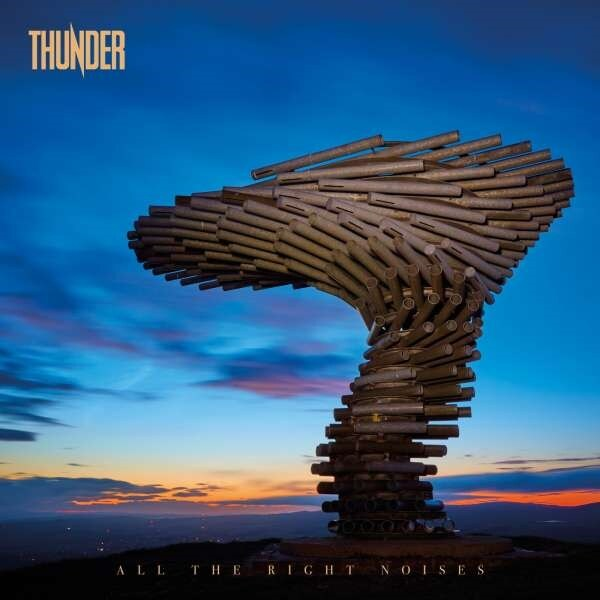 Skivrecension: Thunder – All the right noises