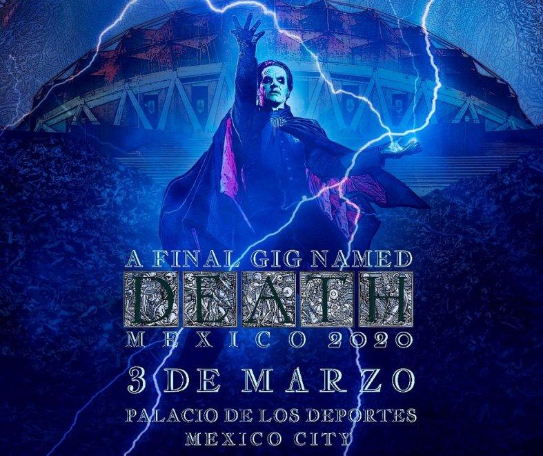 """Ny Video: Ghost – """"Life Eternal"""" (Palacio de los Deportes Concert Video)"""