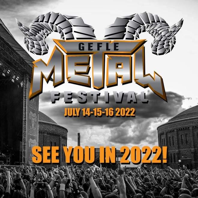 Gefle Metal Festival flyttas fram till 2022!