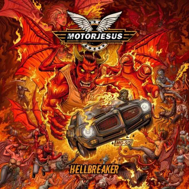 """Ny Skivrecension: Motorjesus – """"Hellbreaker""""."""