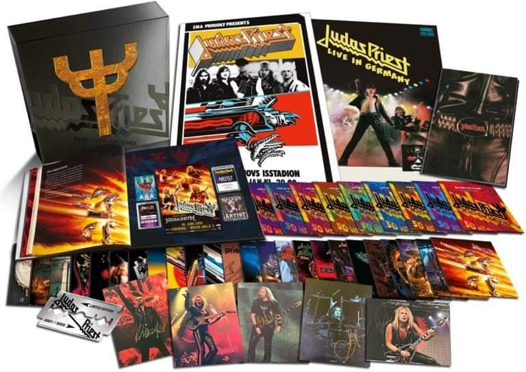 """Judas Priest firar 50 år som band med att släppa en limiterad samlingsbox – """"50 Heavy Metal Years Of Music""""!"""
