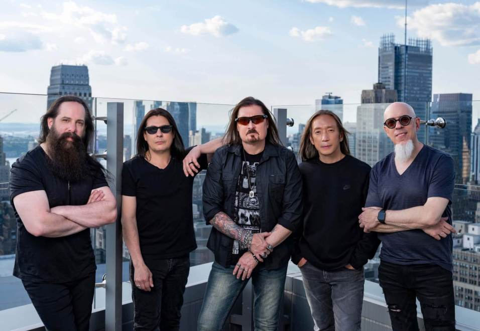 """DREAM THEATER RETURN WITH """"A VIEW FROM THE TOP OF THE WORLD""""."""