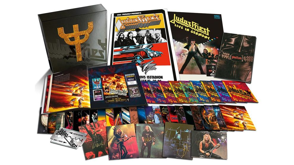 Judas Priest släpper monsterbox