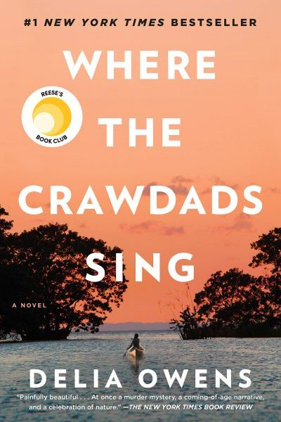 Where the Crawdads Sing by Delia Owens book cover