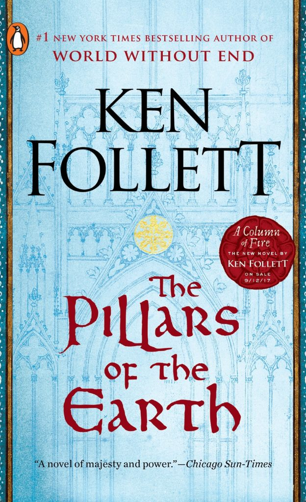 The Pillars of the Earth book cover