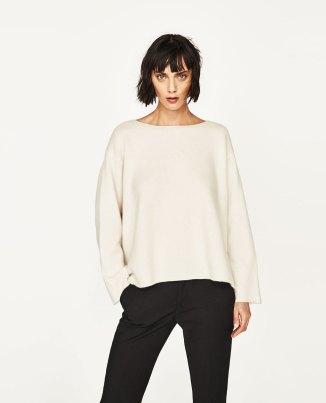 Boatneck Cashmere Sweater £119.00