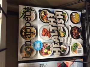 bon appetite healthy issue