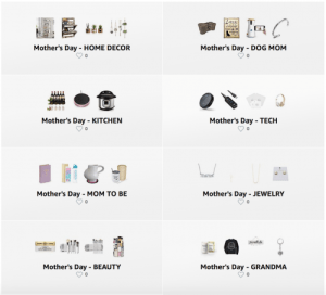 Mother's Day Gift Guide on Amazon