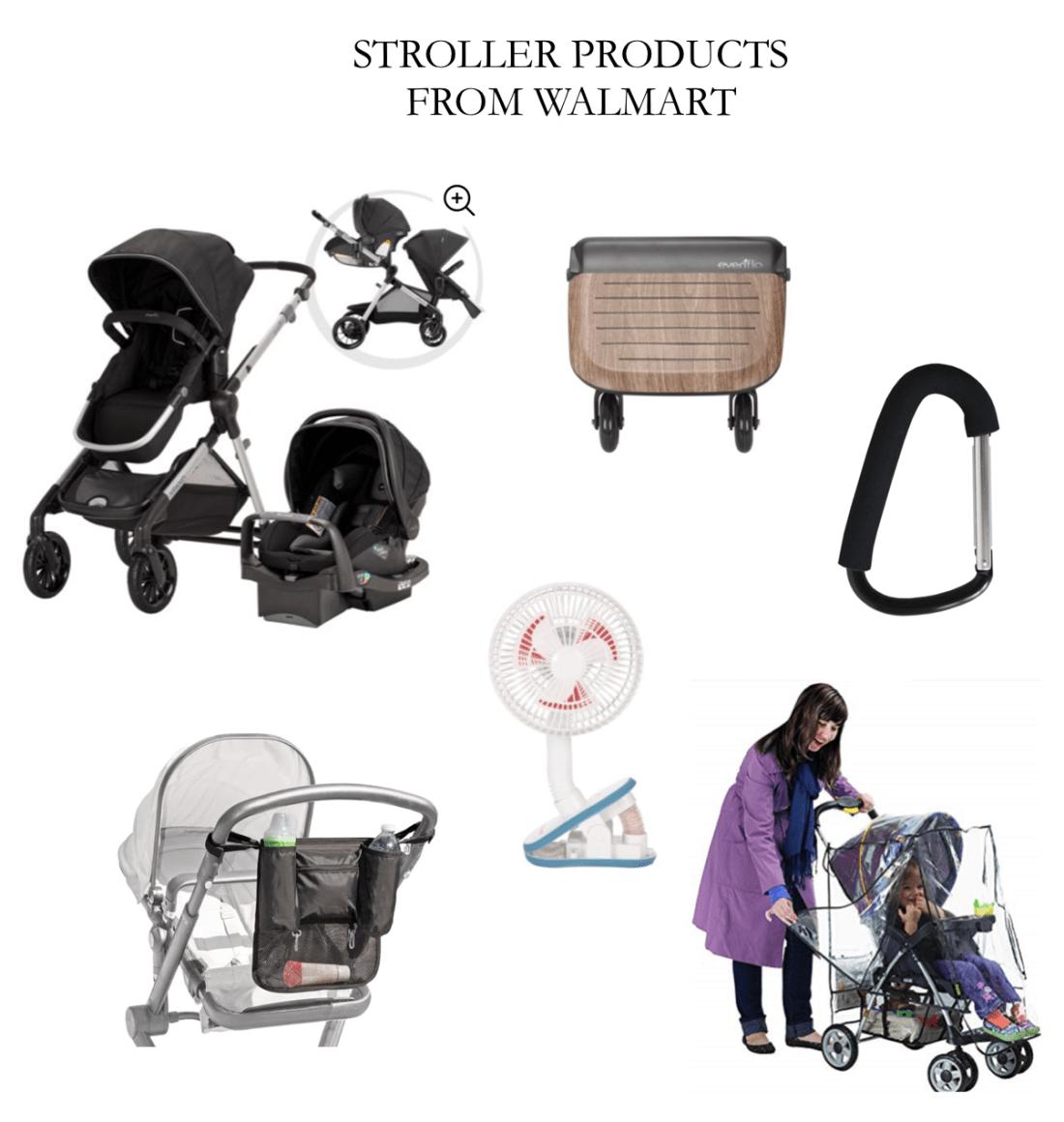 walmart stroller accessories