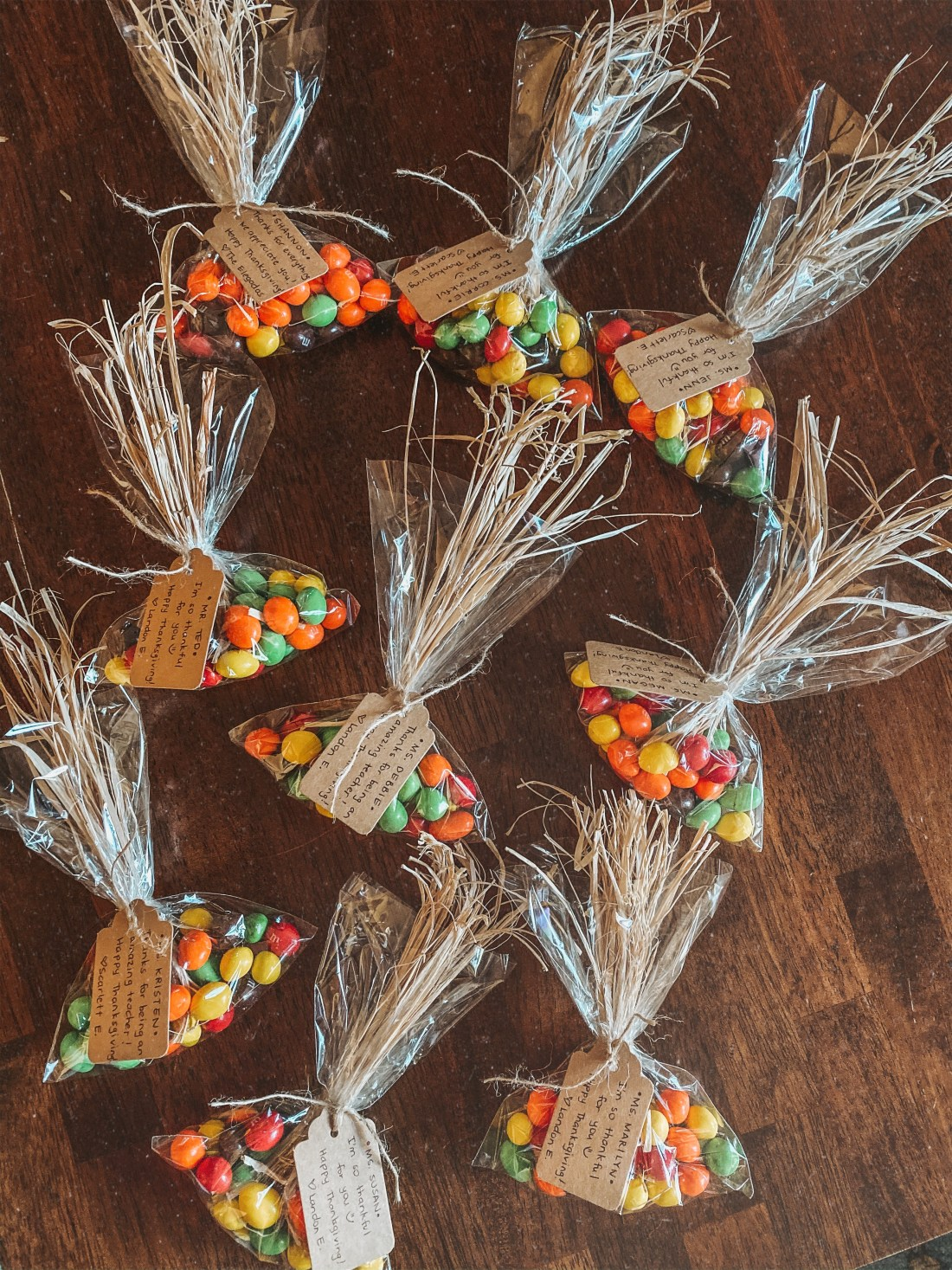 DIY Thanksgiving Goodie Bags