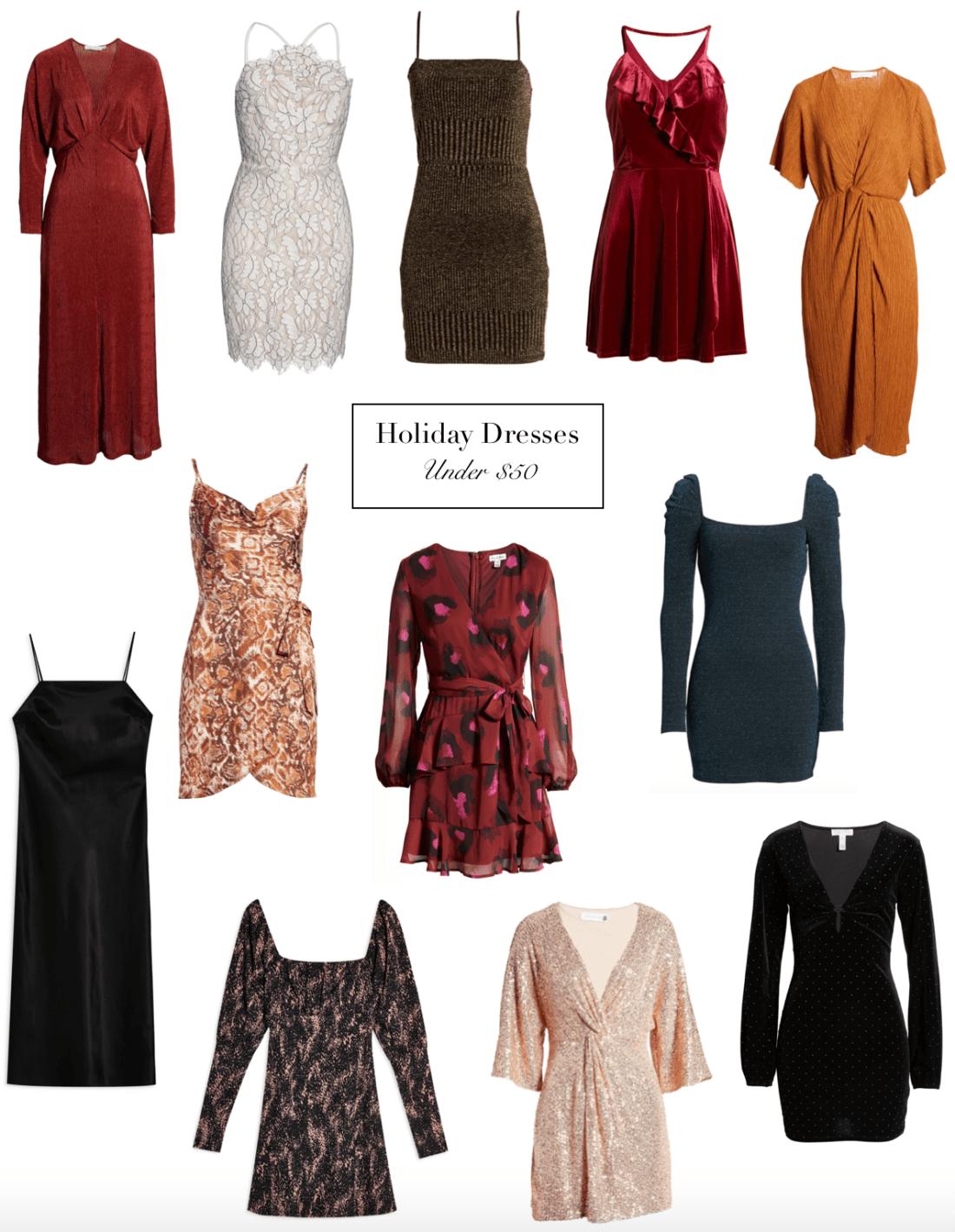 holiday dresses under 50