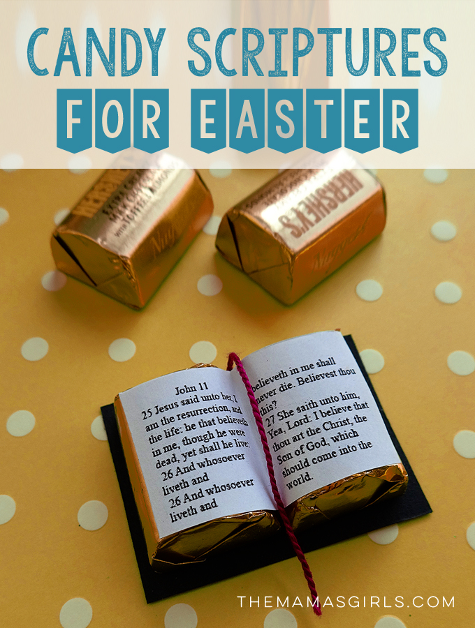 Candy Scriptures For Easter