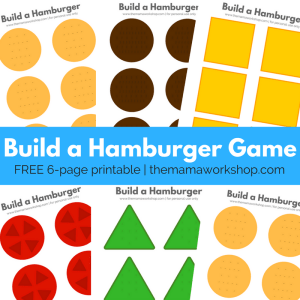 Build a Hamburger Game