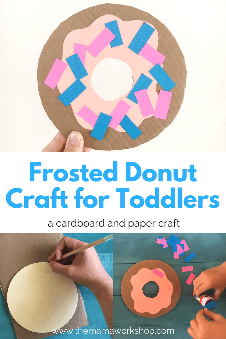 Frosted Donut Craft