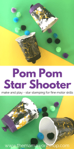 Shooting Star Craft – Pom Pom Shooter