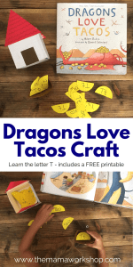 Dragons Love Tacos Craft – House and Tacos