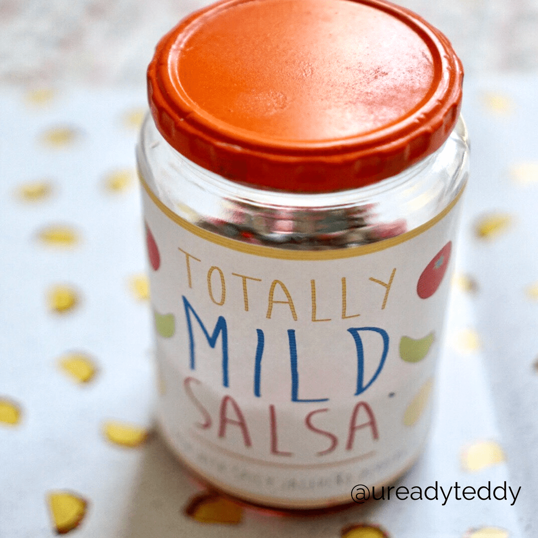 Totally Mild Salsa Printable - U Ready Teddy