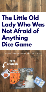 The Little Old Lady Who Was Not Afraid of Anything Dice Game