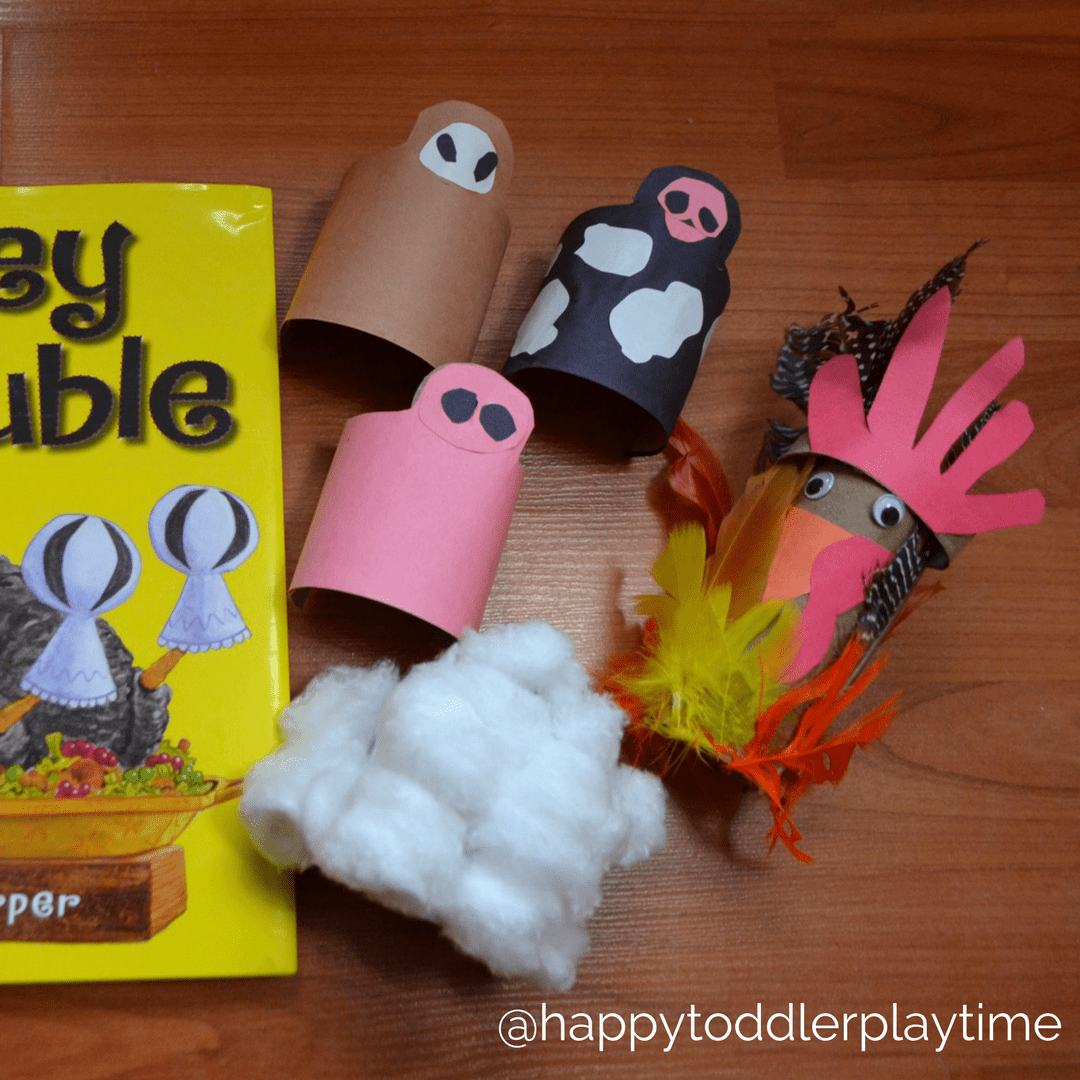Turkey Trouble - Happy Toddler Playtime