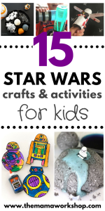 Star Wars Crafts and Activities to Do with Your Kids