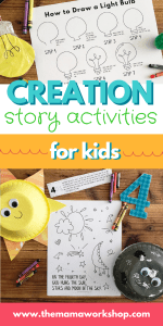 Creation Story Activities for Kids