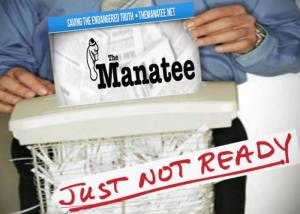 'The Manatee' could be a great site someday, 'but it's just not ready': Conservative supporters