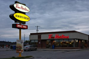 Tim Hortons faces staunch competition as gas prices continue to drop