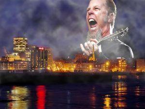 Voice of Metallica frontman James Hetfield heard in Saint John thunderstorm