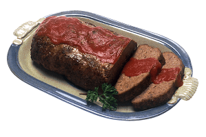 Meatloaf: the dish
