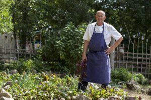 Renowned chef's secret: mixing delicious stuff together