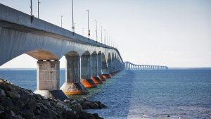 Confederation Bridge keeps PEI from floating away