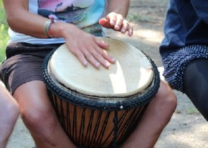 Glyphosate protesters' message negated by presence of bongo drums