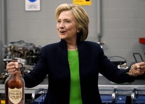 Hillary Clinton's emails hidden at NB Liquor headquarters