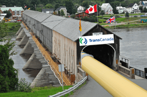 Energy East pipeline route will pass through every single NB covered bridge