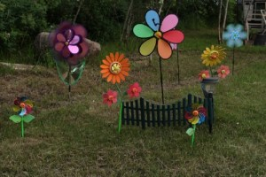 Kent County man finally finds accent piece to complete trash garden