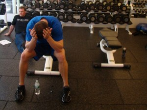 Man stops working out but doesn't mention it on Facebook