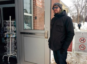 Fredericton man stuck holding door for market shoppers all morning