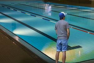 UNB swim team pledges to keep Sir Max Aitken Pool full with their urine