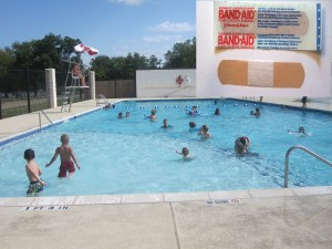Report: Public pool now 50% Band-Aids