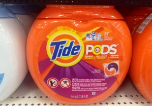 Tide pods apparently not an appropriate meal replacement