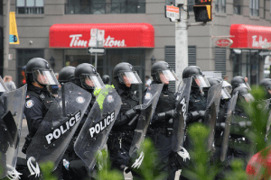 Protesters boycotting Tim Hortons for one day, because that'll show 'em
