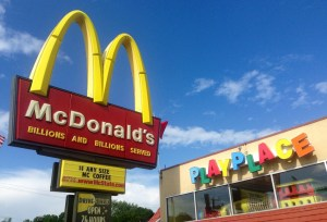'McDonald's isn't really meat,' tired parents assure kids on Good Friday road trip