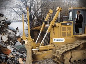 New Brunswick to push all flood garbage back into river