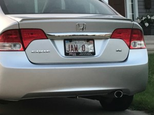 Report: Water-damaged NB licence plates hottest trend of summer