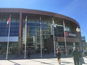 Moncton to house homeless in Avenir Centre arena when not in use