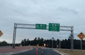 Fredericton so dull that going through new roundabout considered entertainment