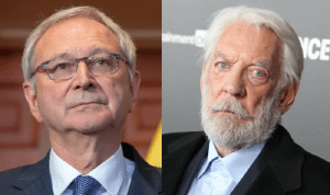 Higgs publicly challenges 83-year-old actor Donald Sutherland to a fight