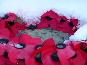 Snow before Remembrance Day 'disrespectful': Maritimers