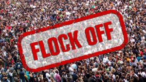 Flocks of people breaking social distancing protocols urged to 'flock off and stay home'