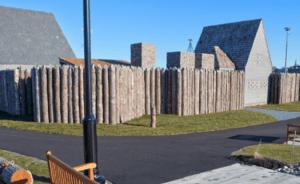 Acadian civil war re-enactment causes Fort La Tour fire